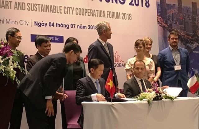 지속 가능한 스마트 도시에 관한 베트남 – 프랑스 협력 포럼 - ảnh 1