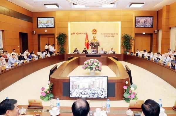 국회 상무위원회 25차 회의, 많은 내용 토의 - ảnh 1
