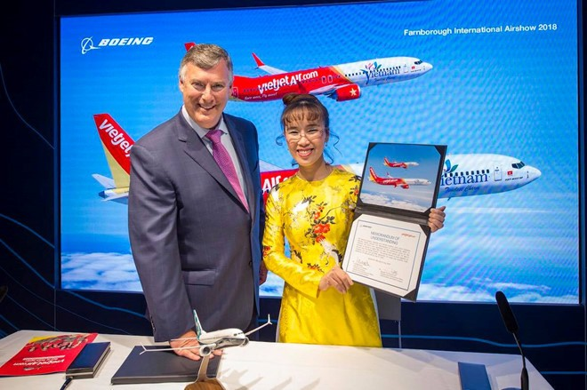 Vietjet, Boeing와  항공기 100대 , Airbus와 50대 구입 계약 체결 - ảnh 1
