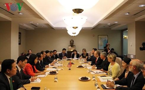 Do Ba Ty 국회부의장 방문, 베트남 – 미국 포괄적인 파트너 관계 강화에 기여 - ảnh 3