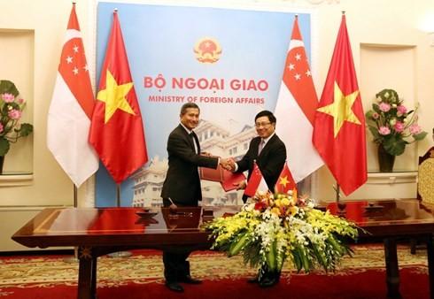 베트남 – 싱가포르 우호 다져 - ảnh 1
