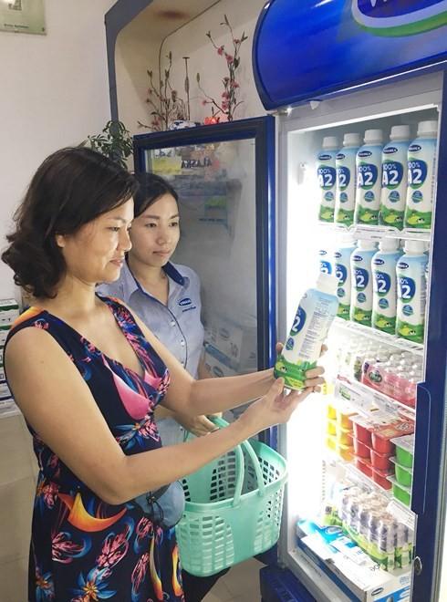 Vinamilk  100% A2 청정 생우유 제품  - ảnh 1