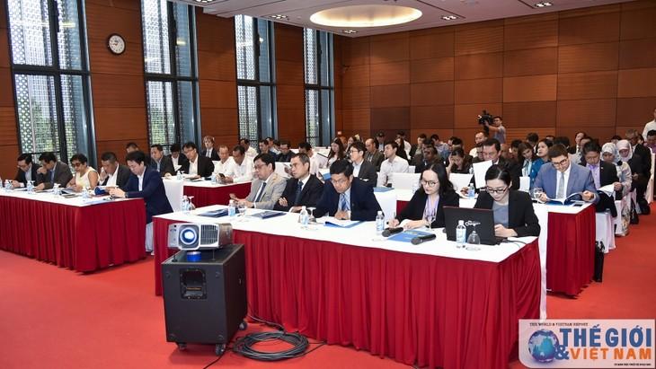 베트남, 2018년 WEF ASEAN회의 준비 대표단 하노이 방문 환영 - ảnh 2