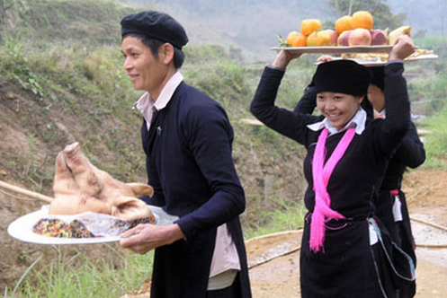 Dao 사람들의 산림 개문식  - ảnh 2