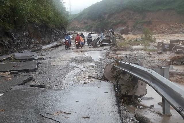 북부와 중부성들, 주동적으로 자연재난 대응 - ảnh 1