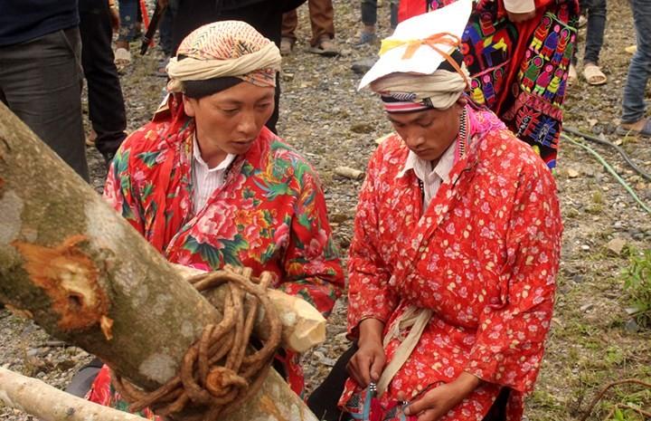 Dao Dau Bang 사람들의 Tu Cai 의식 - ảnh 3