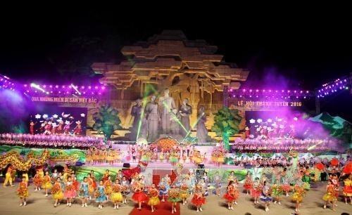 처음으로 국가 무형문화유산 축제 개최 - ảnh 1