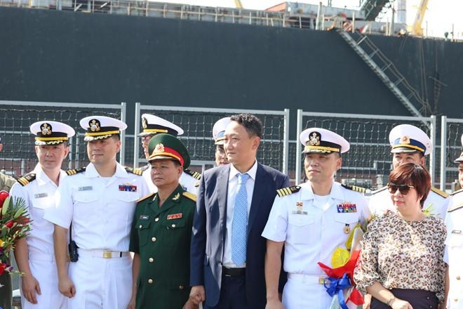한국해군함, 다낭시 친선 방문 - ảnh 1