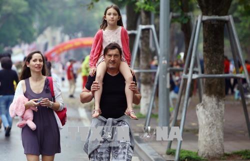 하노이; 관광객 2천만여명 맞히하여 - ảnh 1