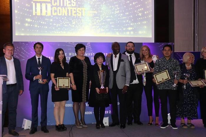 베트남 AIC그룹, 스마트 도시 세계 대회에서 우수상 수상 - ảnh 1