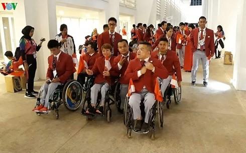 2018년 Asian Para Games : 베트남 의 메달 행진 계속 - ảnh 1