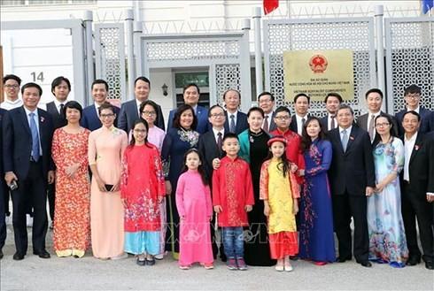 Nguyen Thi Kim Ngan국회의장, 터키공화국 정식 방문 - ảnh 1
