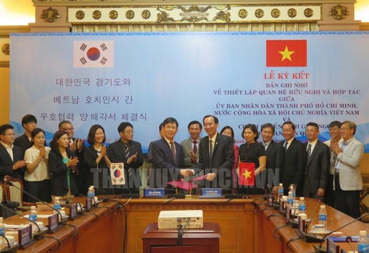 호치민시와 한국 경기간 협력 촉진 - ảnh 1