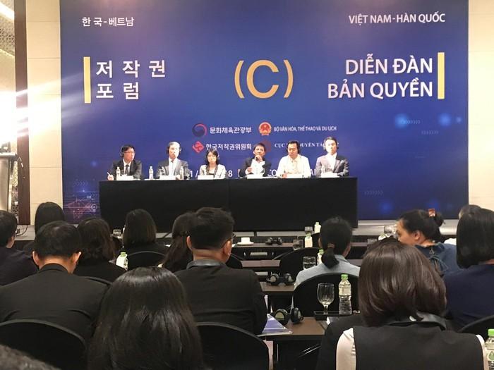 베트남 – 한국 저작권 포럼, 디지털 시대 내의 저작권 관리 방안 탐구 - ảnh 1