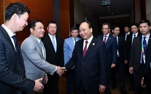 베트남 총리, 중국 기업들 만나 - ảnh 2