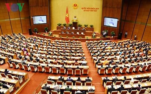 국회, 대학교육법 및 인민공안법 초안 논의 - ảnh 1