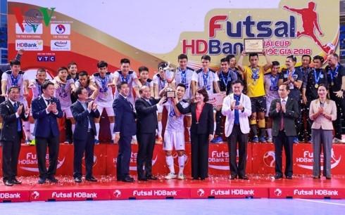2018년 국가컵 Futsal HDBank상 폐막 - ảnh 1