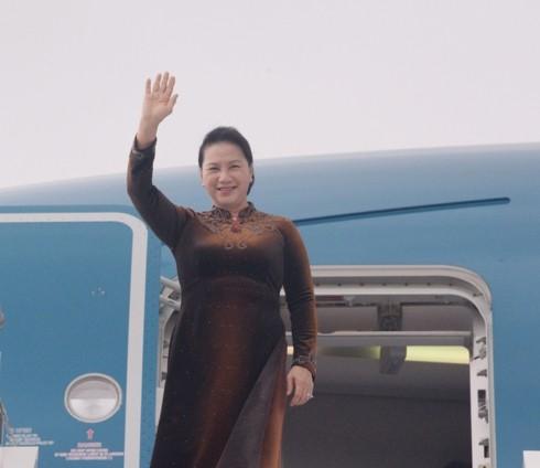 응우옌 티 낌 응언 (Nguyễn Thị Kim Ngân) 국회의장, 모로코 공식 방문 시작 - ảnh 1
