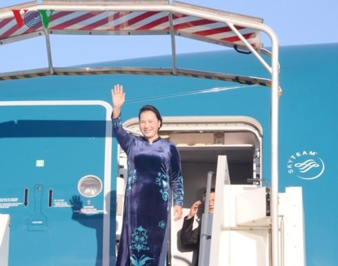 응우옌 티 낌 응언 (Nguyễn Thị Kim Ngân) 국회의장 프랑스 공식방문 - ảnh 1