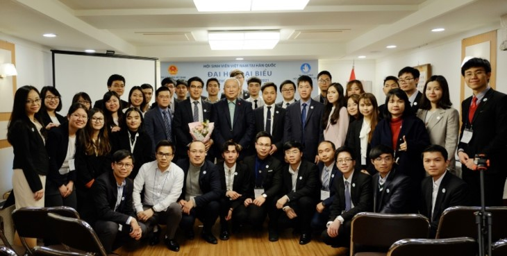 재한 베트남 학생회, 학생회 위상 확인 - ảnh 1