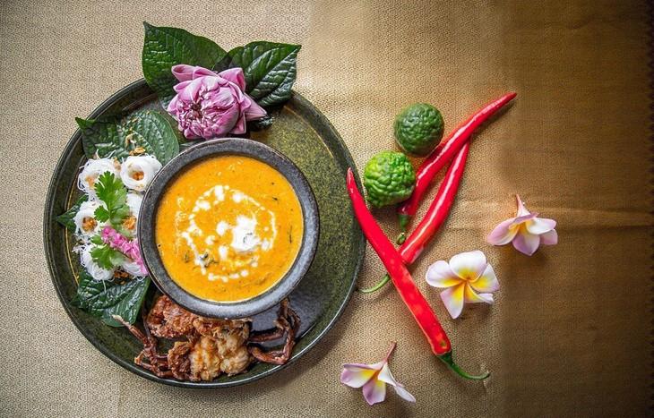 하노이에서 고급 태국음식 음미 - ảnh 1