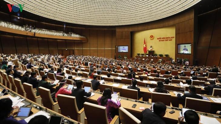 국회, 2주차에 여러 중요 법안 논의 - ảnh 1
