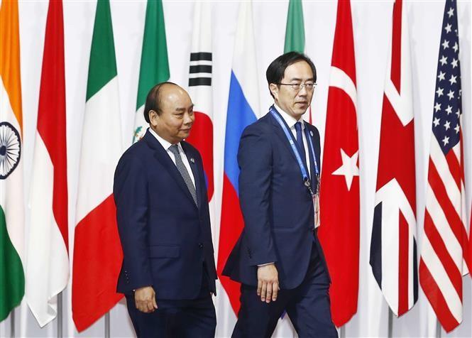 응우옌 쑤언 푹 (Nguyễn Xuân Phúc) 총리, 일본 기술 분야 유수 기업들과 만남 - ảnh 1