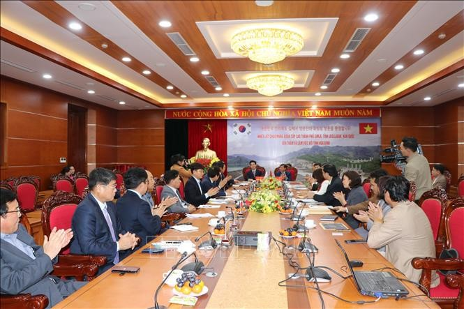 베트남 화빈 (Hòa Bình)성과 한국의 울주군간의 협력 강화 - ảnh 1