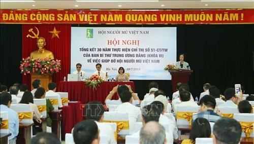 쯔엉 티 마이 (Trương Thị Mai) 위원장 : 장애인들이 국가 발전의 성과를 누릴 수 있는 여건  마련  - ảnh 1
