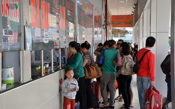 호찌민시 대형 버스 정류장들, 2019년 9월2일 연휴일 서비스 제공 계획 - ảnh 1