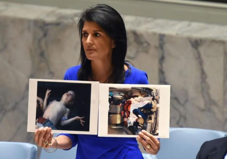 Syrie: Washington et Paris prêts à riposter en cas d'attaque chimique - ảnh 1