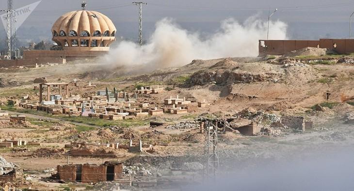 L'armée syrienne s'empare du principal bastion de Daech dans la province de Homs - ảnh 1