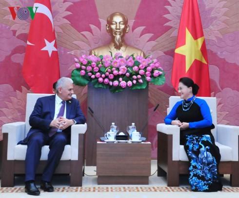 Le Premier ministre turc reçu par des dirigeants vietnamiens - ảnh 2