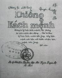 "Publication de la version originale de  ""Duong Kach menh"" - ảnh 1"