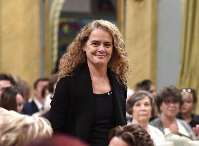 Julie Payette est officiellement gouverneure générale du Canada - ảnh 1