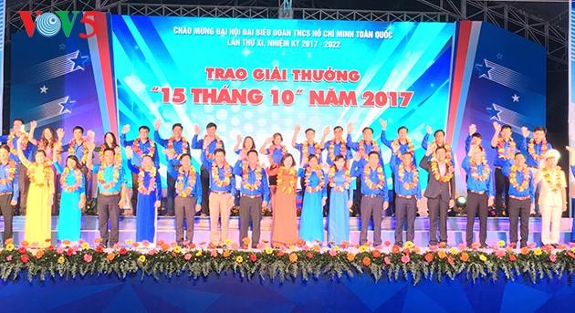 61ème anniversaire de la Journée traditionnelle de l'Union des jeunes vietnamiens - ảnh 1