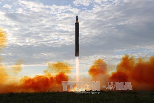 Pyongyang s'apprêterait à effectuer un tir de missile à longue portée, selon une délégation russe - ảnh 1