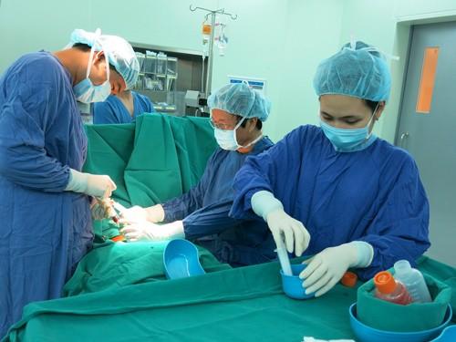 Le Vietnam a procédé le 1er à la greffe de cellules de souche pour traiter la cirrhose pulmonaire - ảnh 1