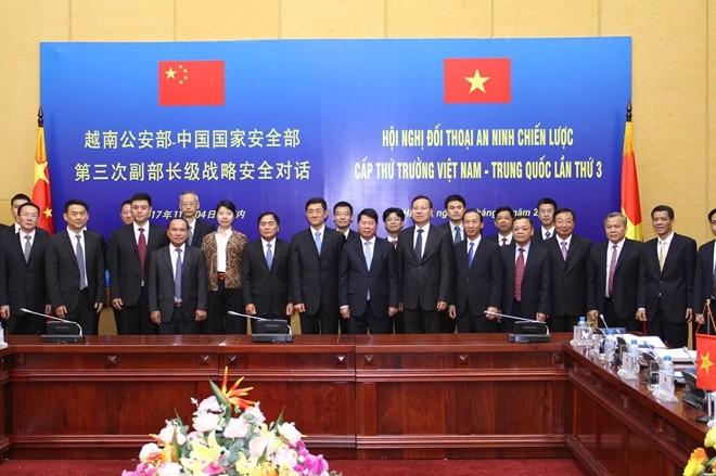 Vietnam-Chine: Dialogue de sécurité stratégique au niveau de vice-ministre - ảnh 1