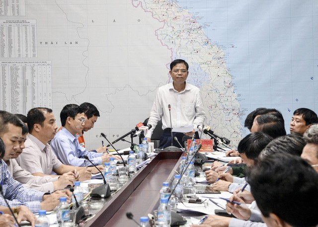 Typhone Damrey: Renforcer la prévention des crues et des glissements de terrain - ảnh 1