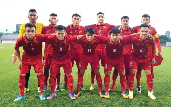 Football: La sélection Vietnamienne gagne un ticket pour la finale U19 d'Asie - ảnh 1