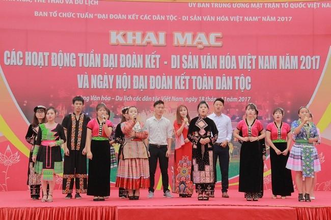 « Solidarité des ethnies - Patrimoines culturels du Vietnam »   - ảnh 1
