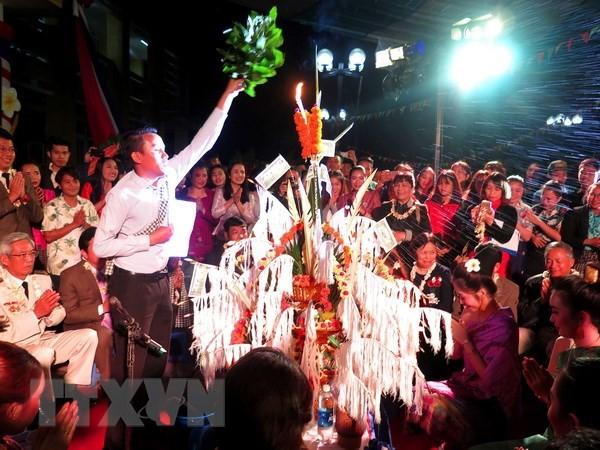 Le Nouvel an traditionnel laotien fêté à Huê - ảnh 2