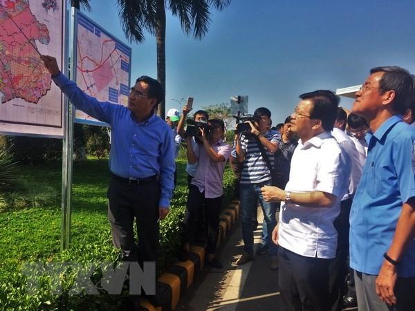 Trinh Dinh Dung contrôle le projet d'aéroport de Long Thành - ảnh 1
