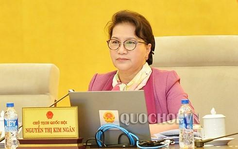 Le comité permanent de l'Assemblée nationale débat de la loi sur l'élevage - ảnh 1