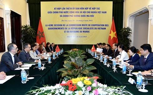 Réunion du comité mixte Vietnam-Maroc - ảnh 1