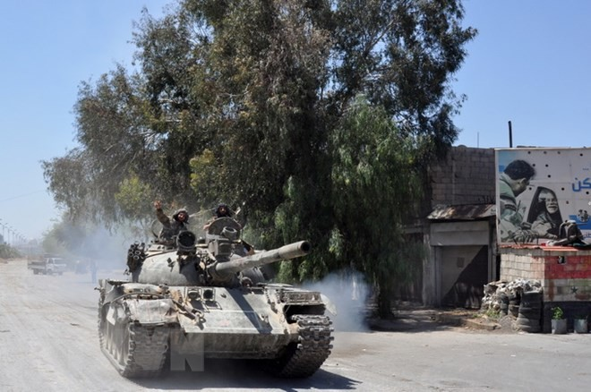 Syrie: L'armée syrienne reprend totalement le contrôle de Damas  - ảnh 1