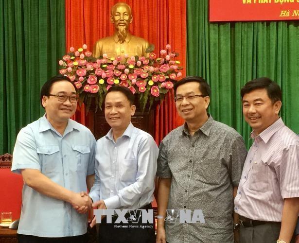Lancement du prix de la presse sur l'édification du Parti et la culture hanoienne - ảnh 1