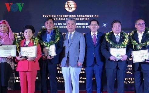 Hanoï et Hô Chi Minh-ville primées par l'Organisation de promotion touristique TPO - ảnh 1
