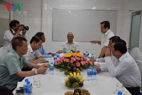 Le vice-président de l'Assemblée nationale Uông Chu Luu à Soc Trang - ảnh 2